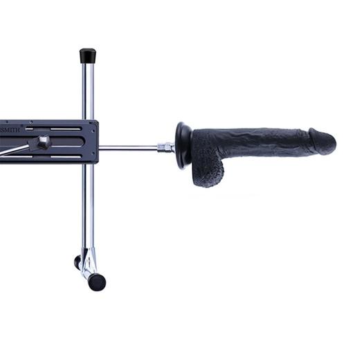 """9"""" FDA-grade Silicone Dildo for Hismith Premium Sex Machine,Safety Non-toxic Realistic Dildo (Flexible, Black)"""