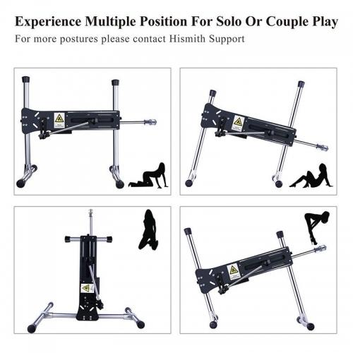 Hismith Premium Sex Machine,Wire-Controlled Love Machine With Bundle Attachments