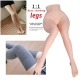 SINLOLI Black Silk Stockings Long Legs Life Size Sex Doll, 3D Realistic Male Masturbator Sex Toys, Sexy legs
