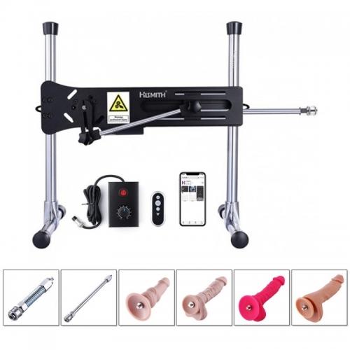 Hismith Premium Sex Machine,Wireless Remote Controlled Love Machine With Bundle Attachments
