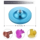 Hismith Updated Anti-rust Strong Suction Cup Adaptor with Sandblast Oxidation Surface -- Colorful Series